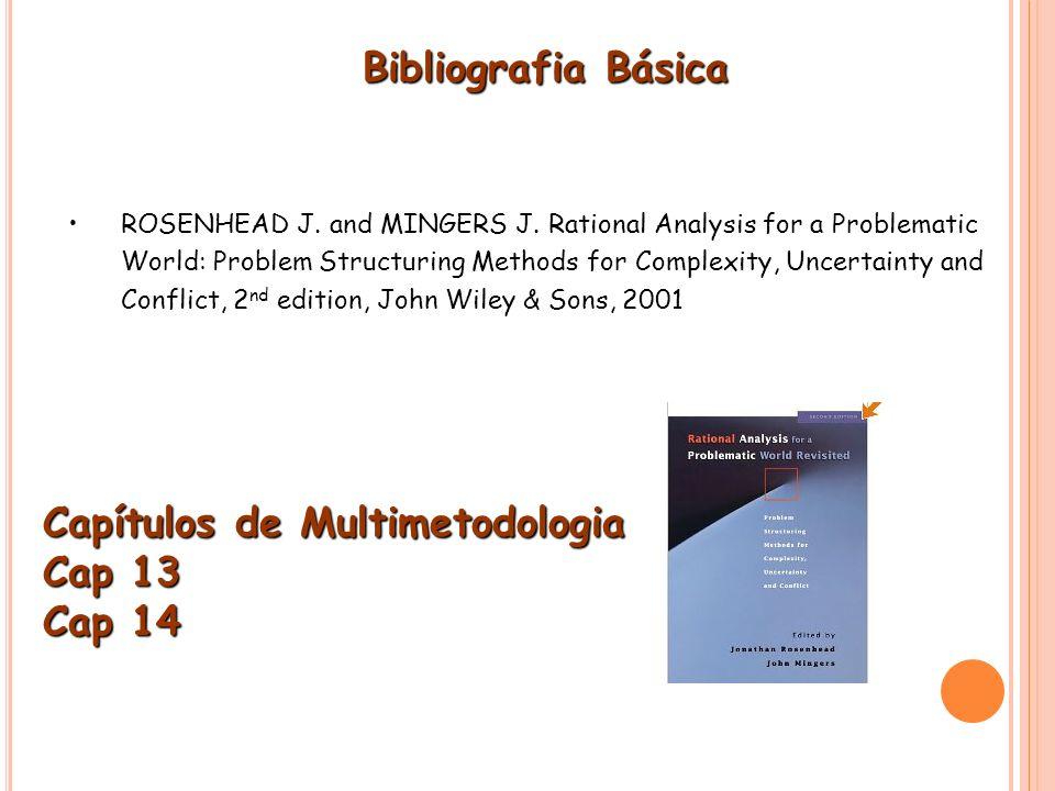 Capítulos de Multimetodologia Cap 13 Cap 14