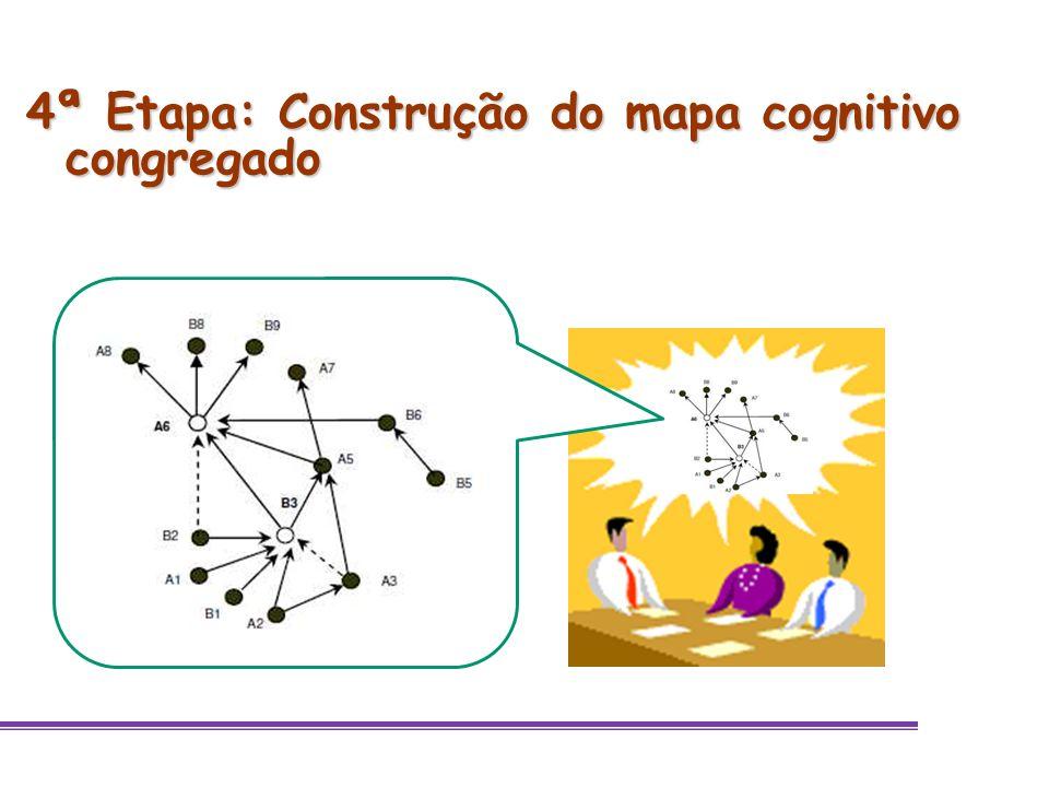 4ª Etapa: Construção do mapa cognitivo congregado
