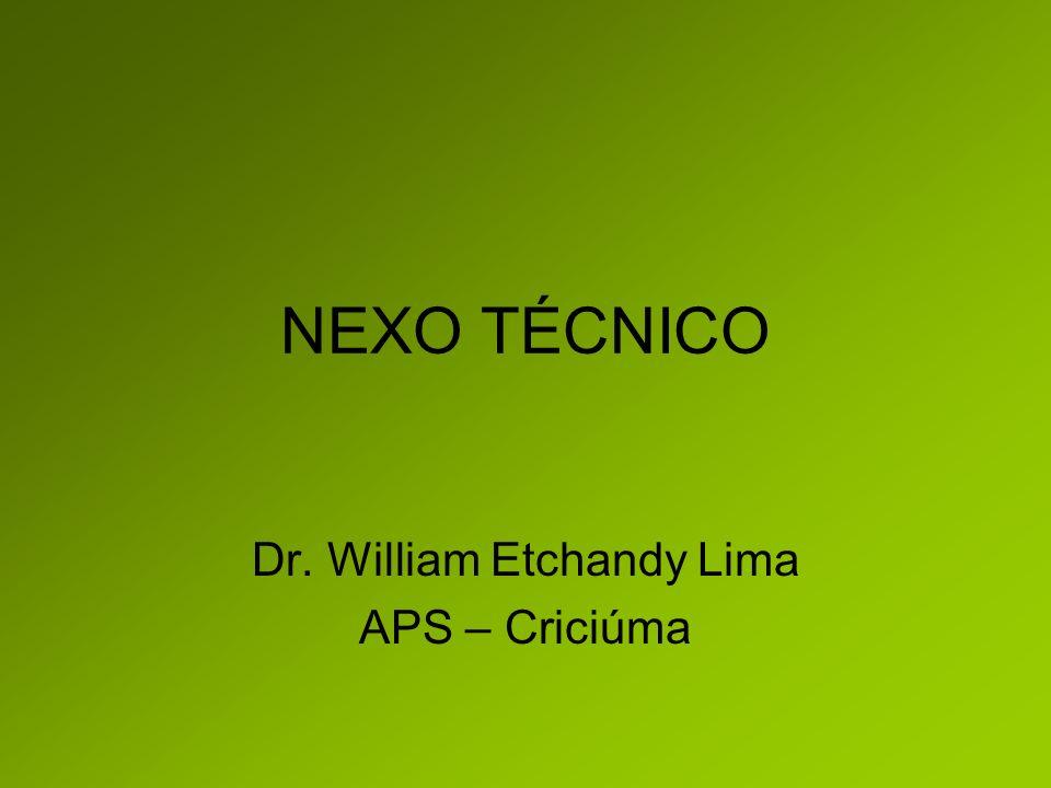Dr. William Etchandy Lima APS – Criciúma