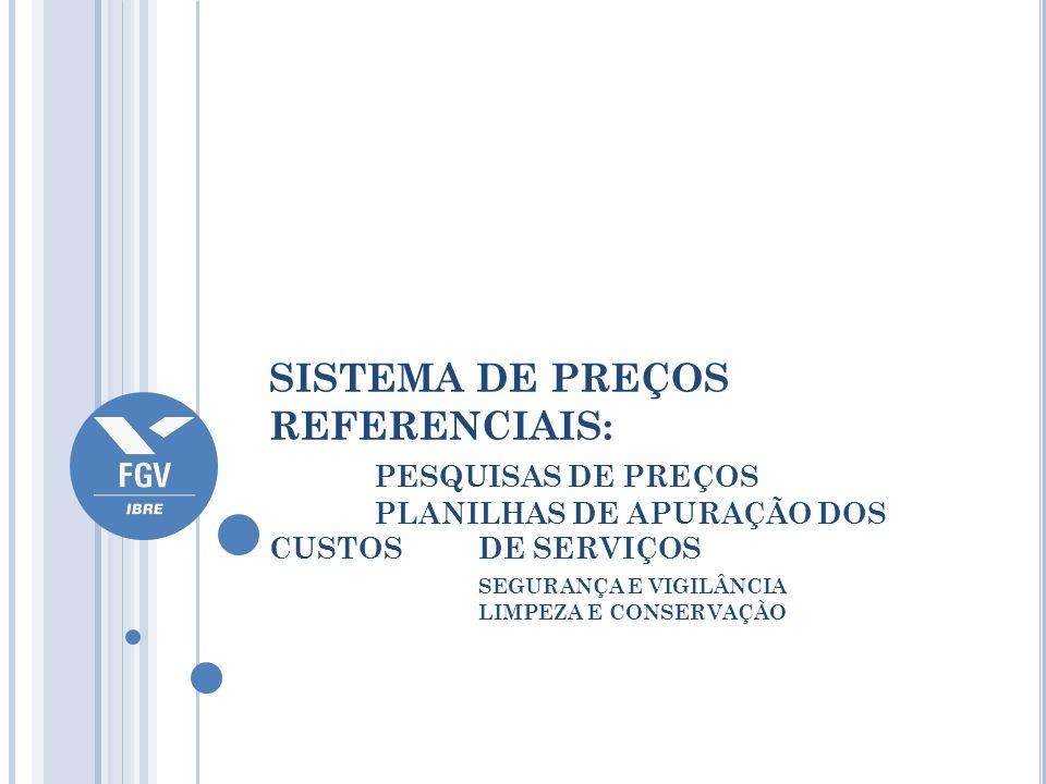 SISTEMA DE PREÇOS REFERENCIAIS:. PESQUISAS DE PREÇOS