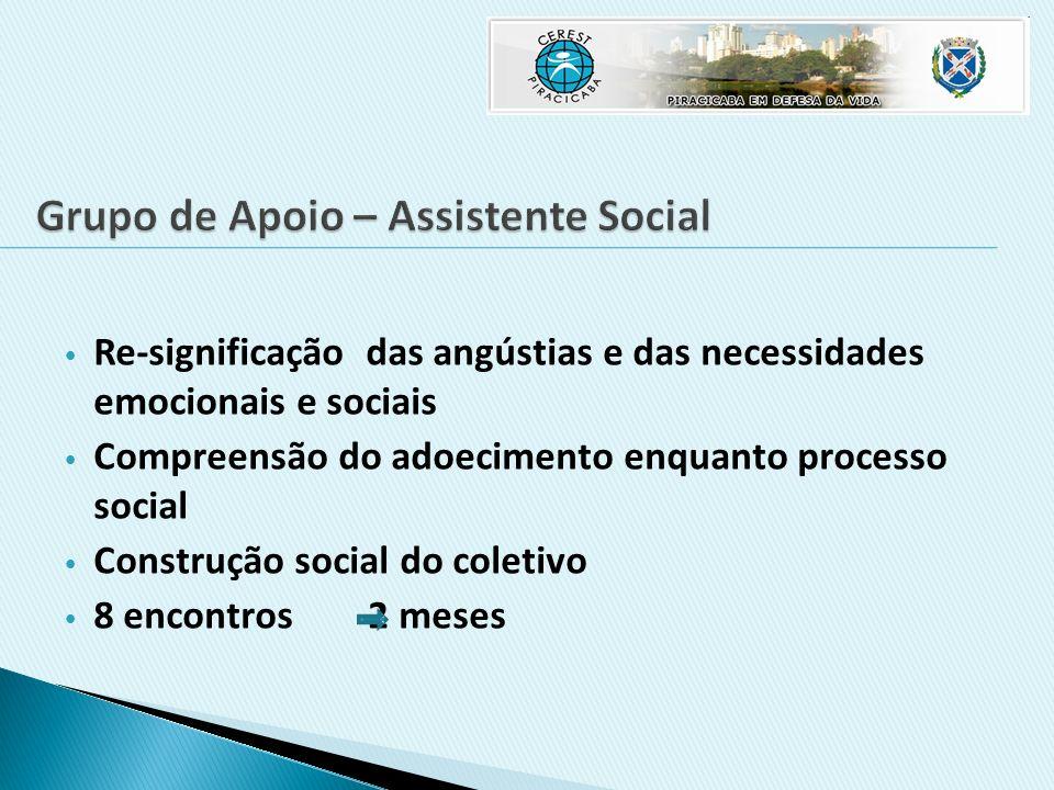 Grupo de Apoio – Assistente Social