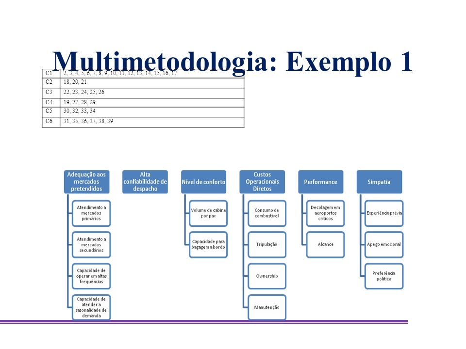 Multimetodologia: Exemplo 1