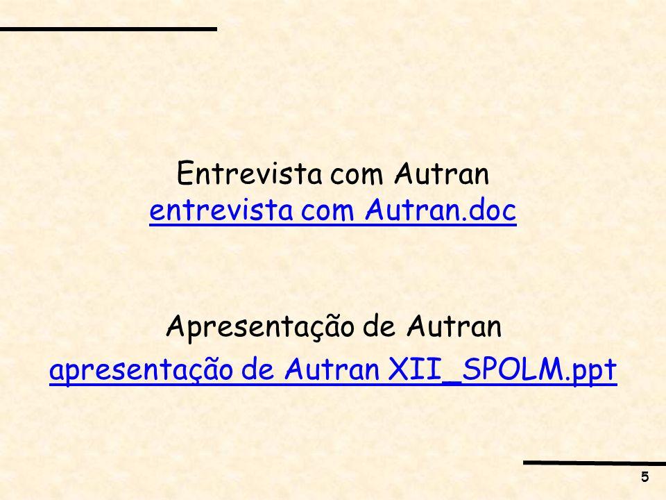 Entrevista com Autran entrevista com Autran.doc