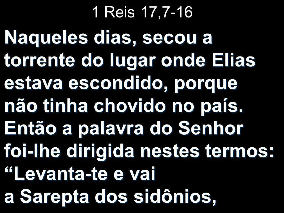 1 Reis 17,7-16