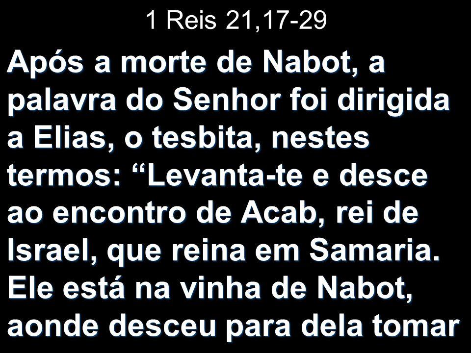 1 Reis 21,17-29
