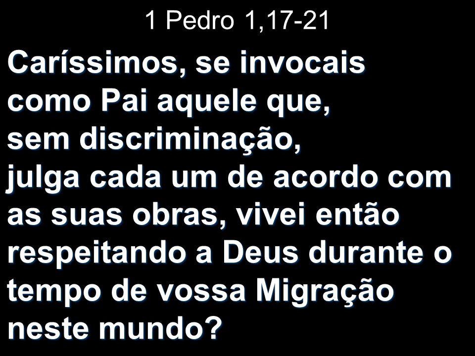1 Pedro 1,17-21