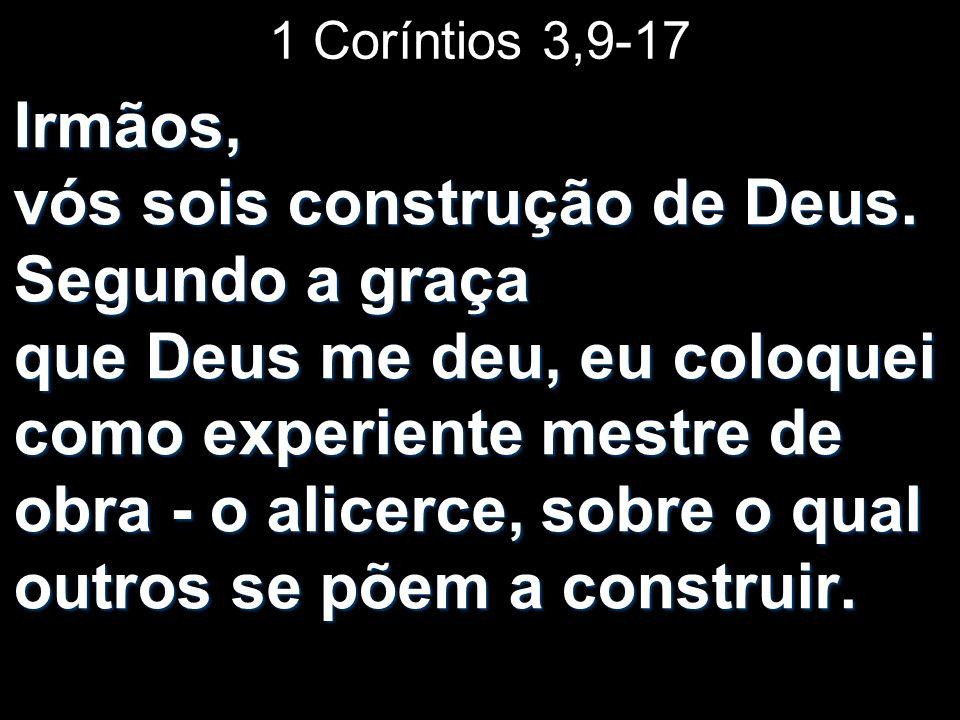 1 Coríntios 3,9-17