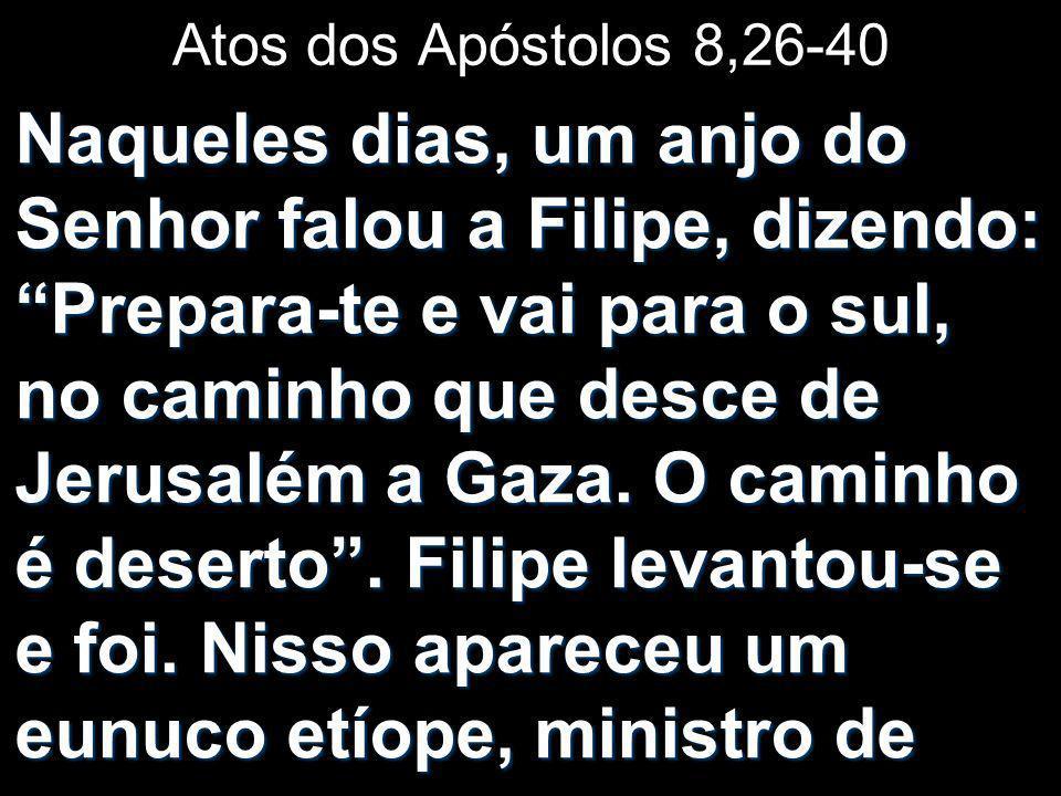 Atos dos Apóstolos 8,26-40