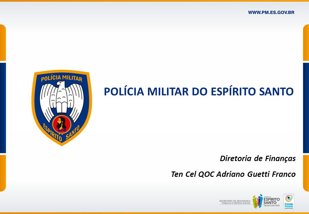 POLÍCIA MILITAR DO ESPÍRITO SANTO