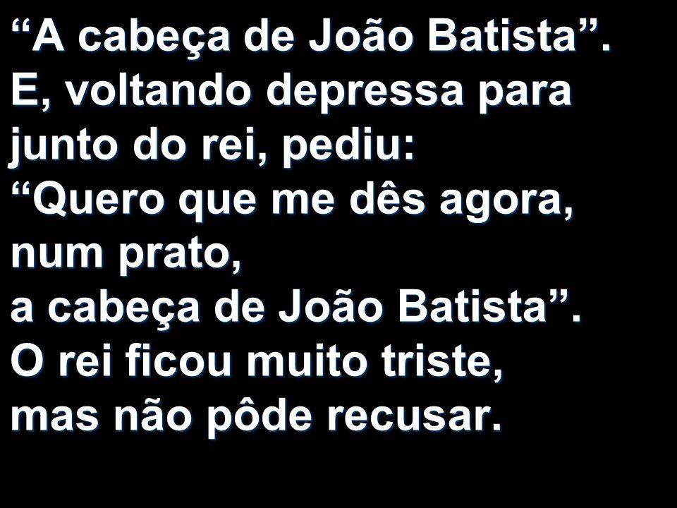 A cabeça de João Batista