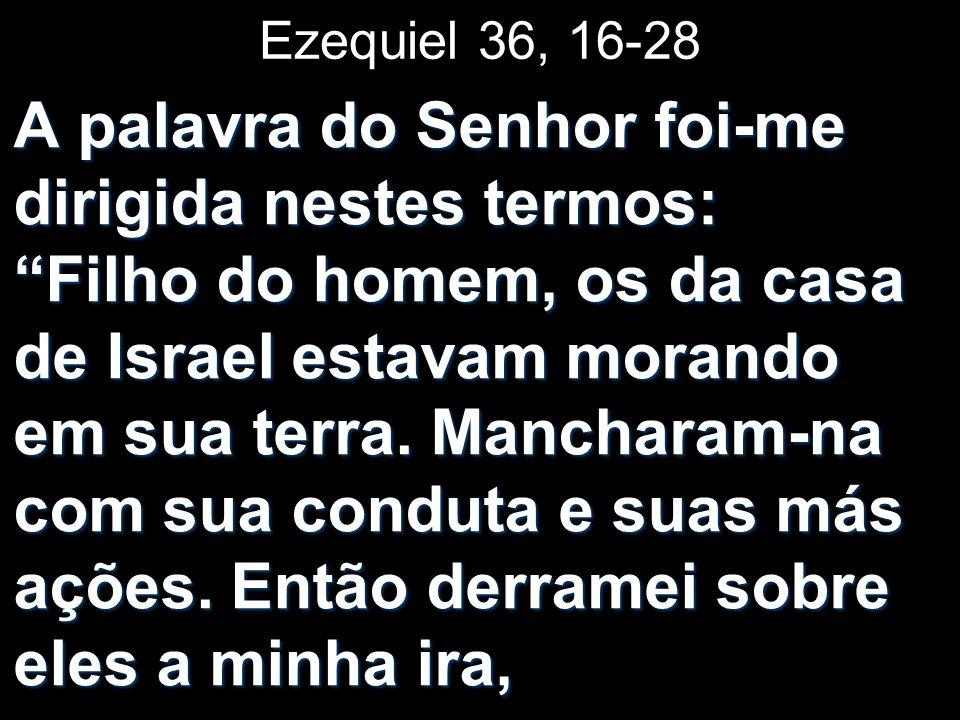 Ezequiel 36, 16-28