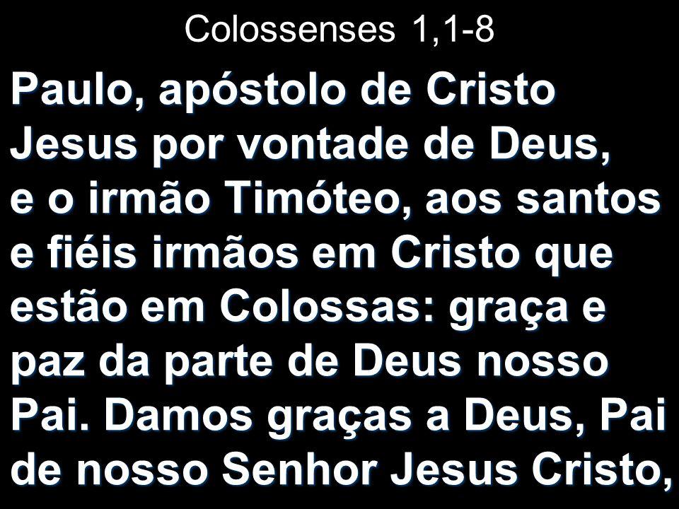 Colossenses 1,1-8