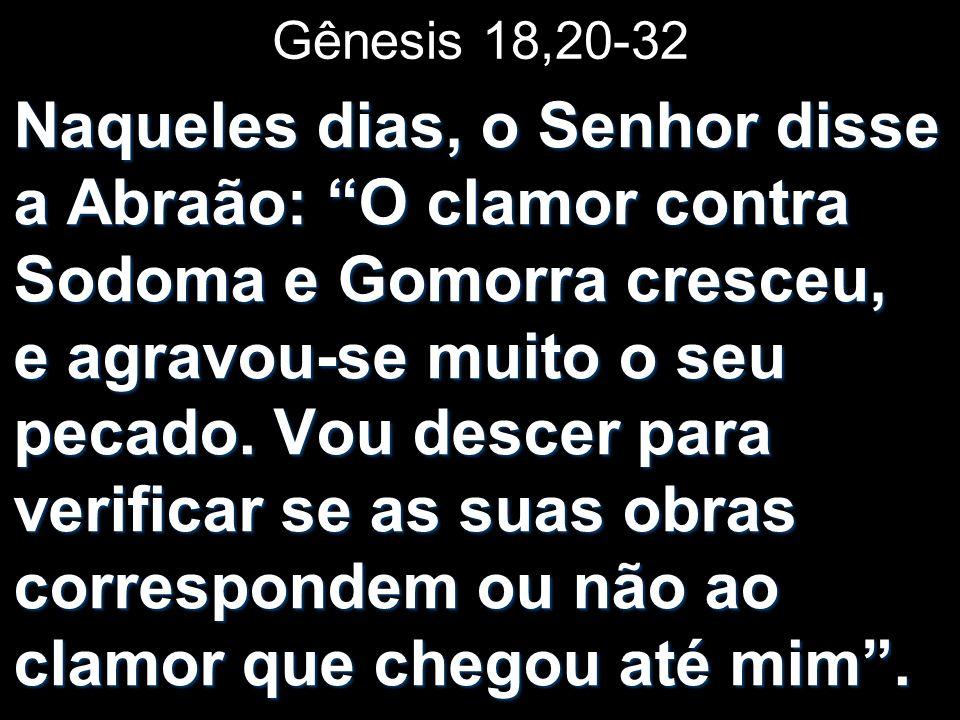 Gênesis 18,20-32