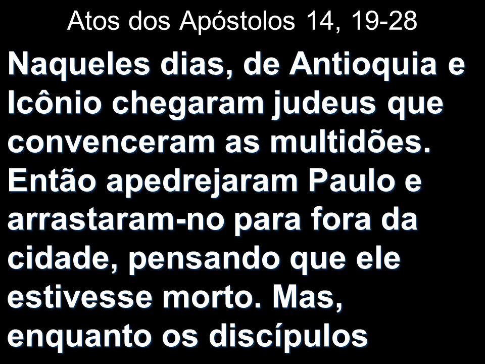Atos dos Apóstolos 14, 19-28