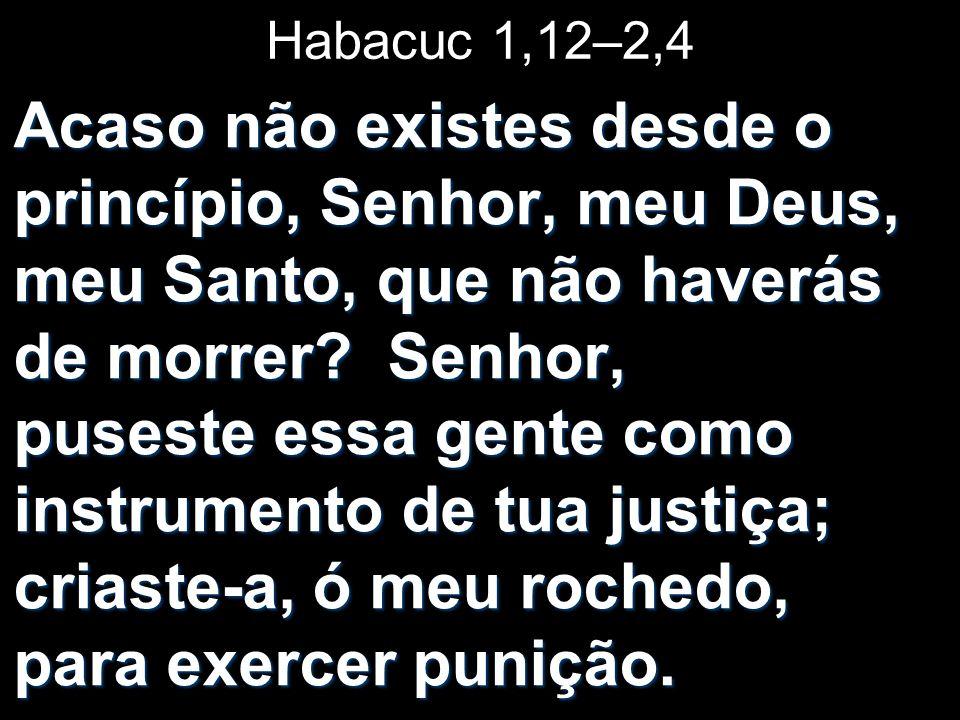 Habacuc 1,12–2,4