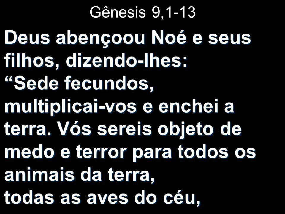 Gênesis 9,1-13