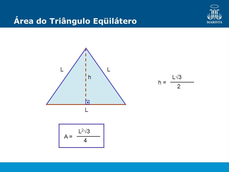 Área do Triângulo Eqüilátero