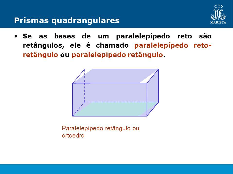 Prismas quadrangulares