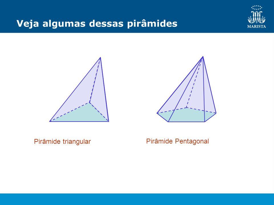 Veja algumas dessas pirâmides
