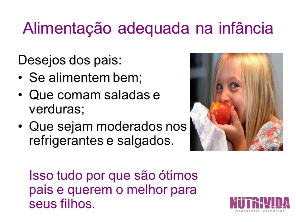 Alimentação adequada na infância