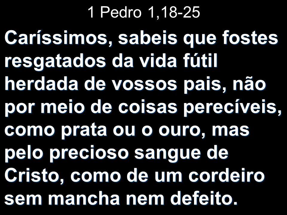 1 Pedro 1,18-25