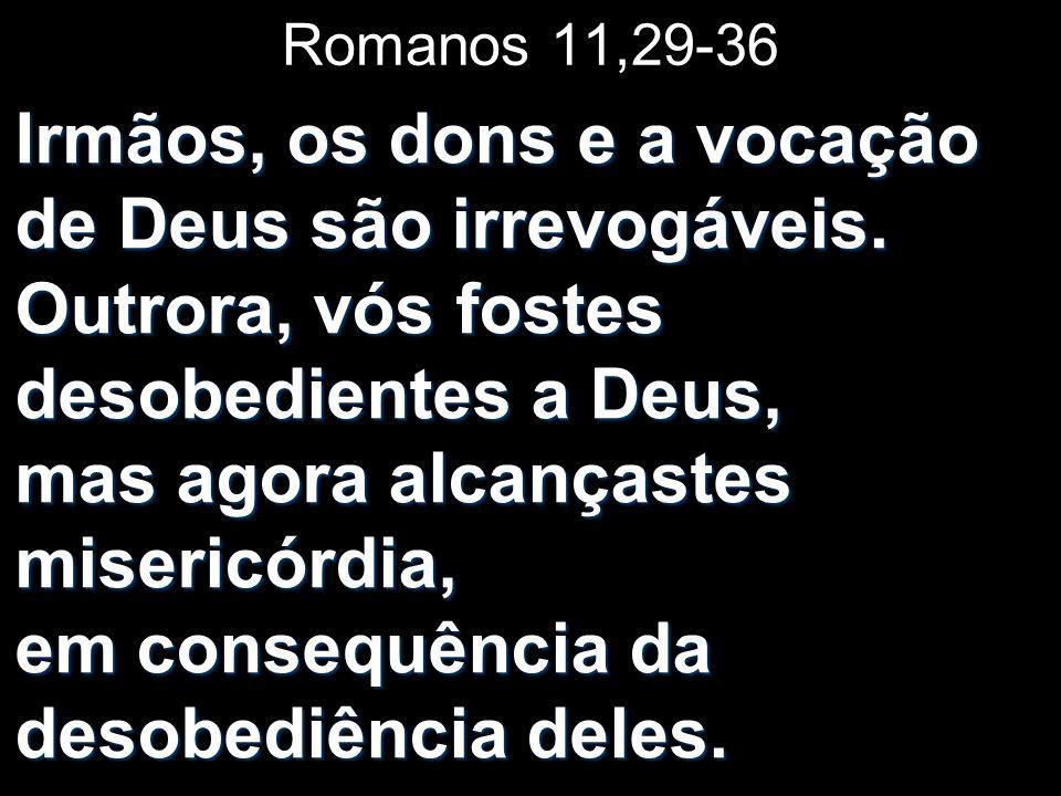 Romanos 11,29-36