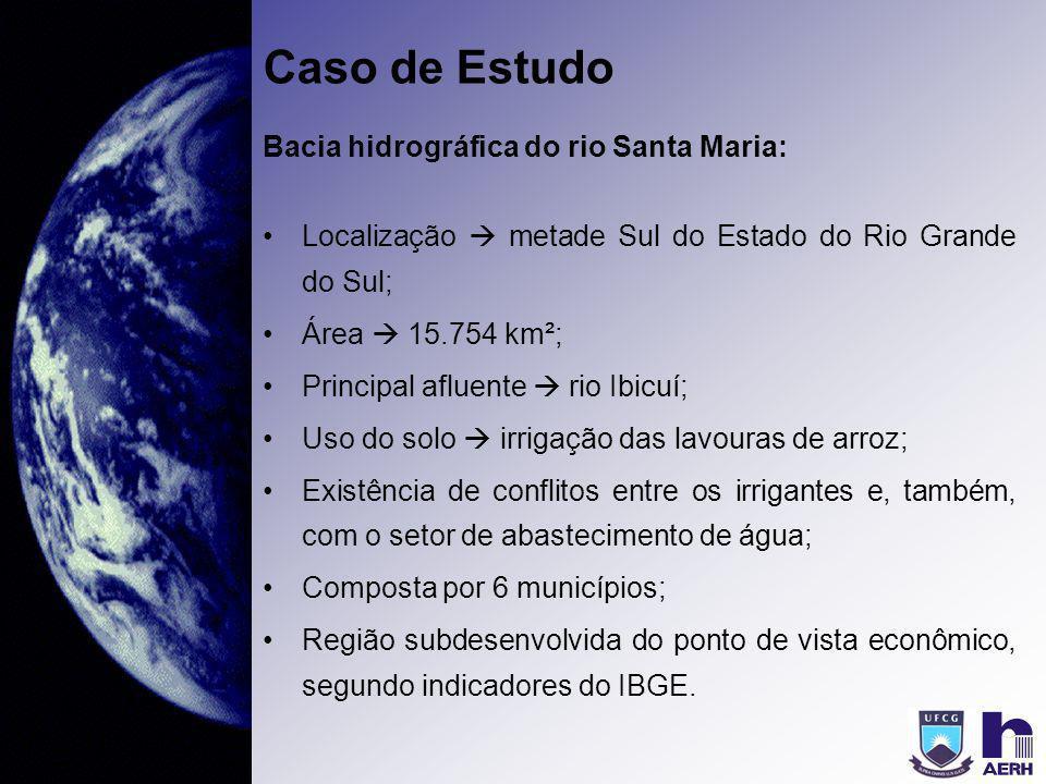 Caso de Estudo Bacia hidrográfica do rio Santa Maria:
