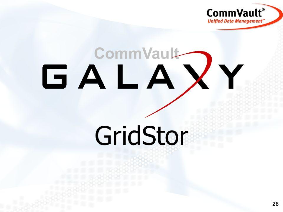 CommVault GridStor