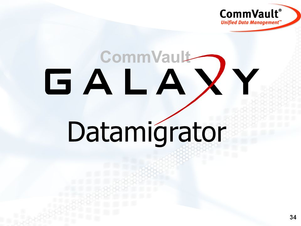 CommVault Datamigrator