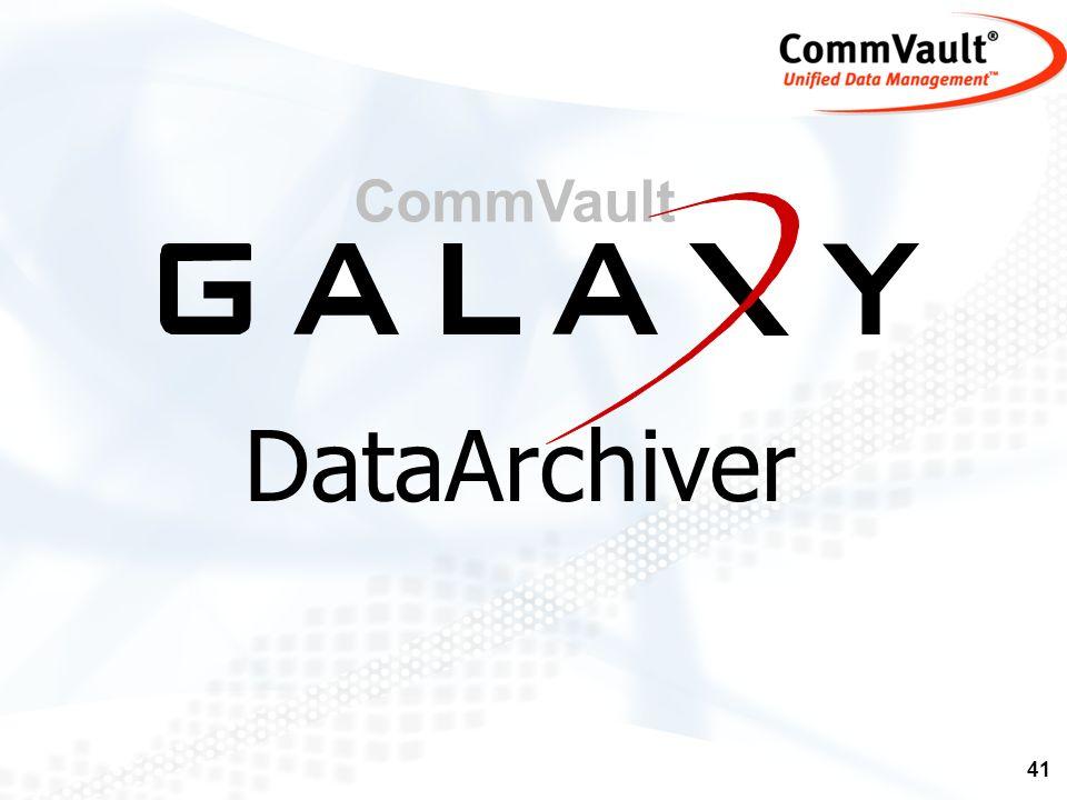 CommVault DataArchiver