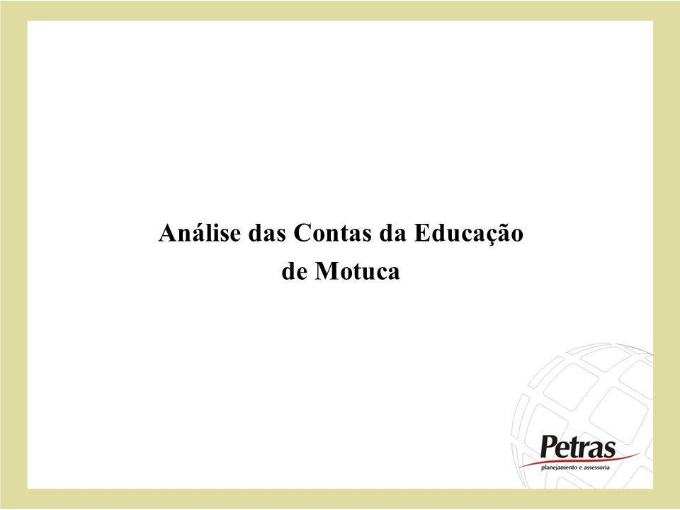 Análise das Contas da Educação