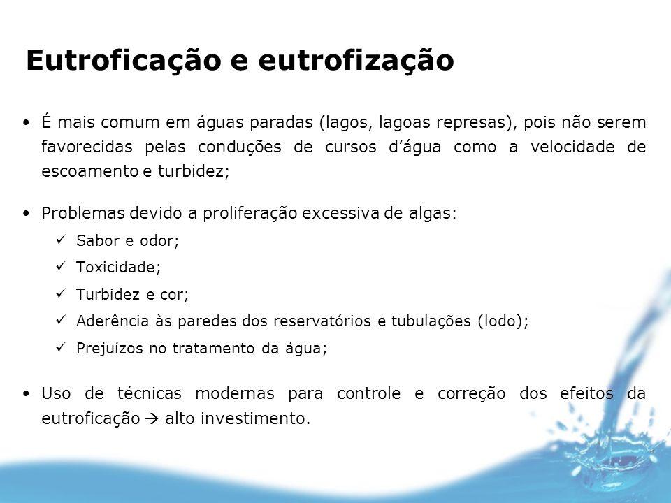 Eutroficação e eutrofização