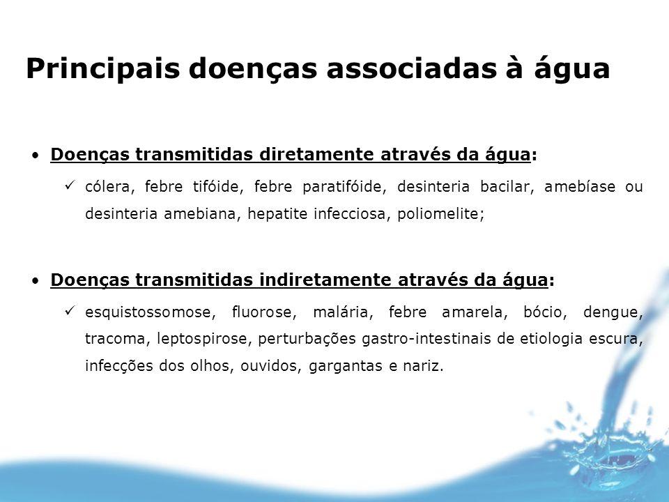 Principais doenças associadas à água