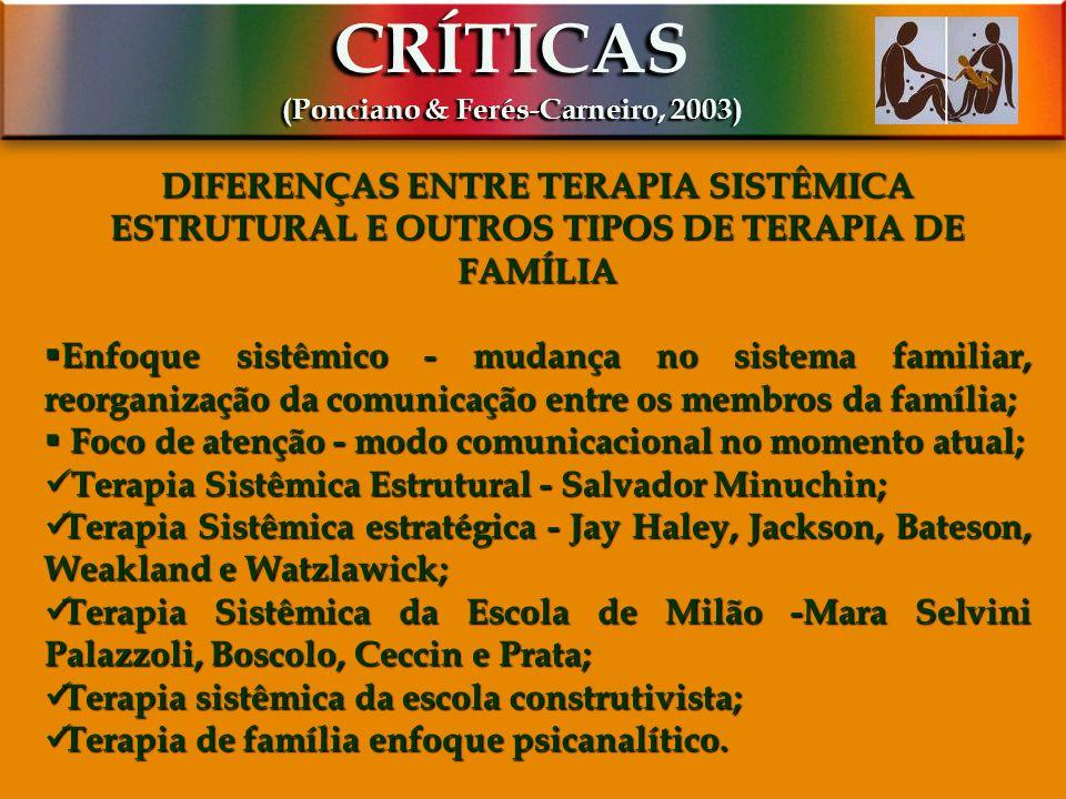 (Ponciano & Ferés-Carneiro, 2003)