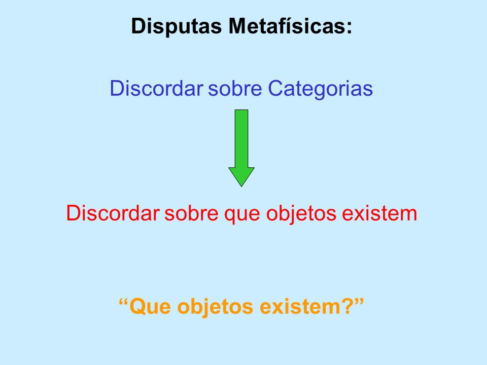 Disputas Metafísicas: