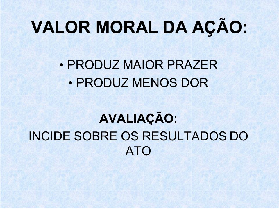 INCIDE SOBRE OS RESULTADOS DO ATO