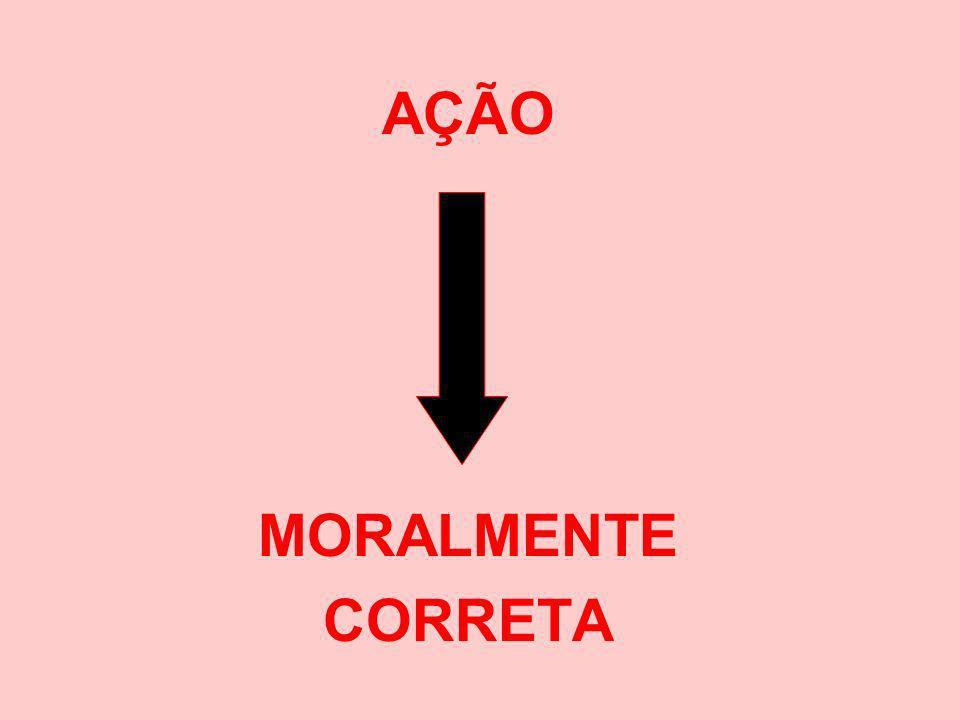AÇÃO MORALMENTE CORRETA