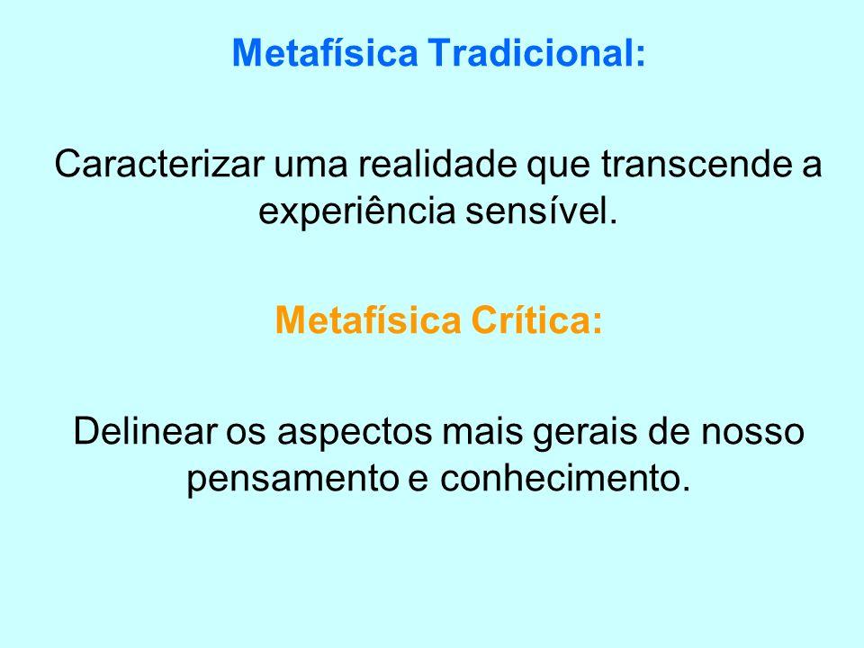 Metafísica Tradicional: