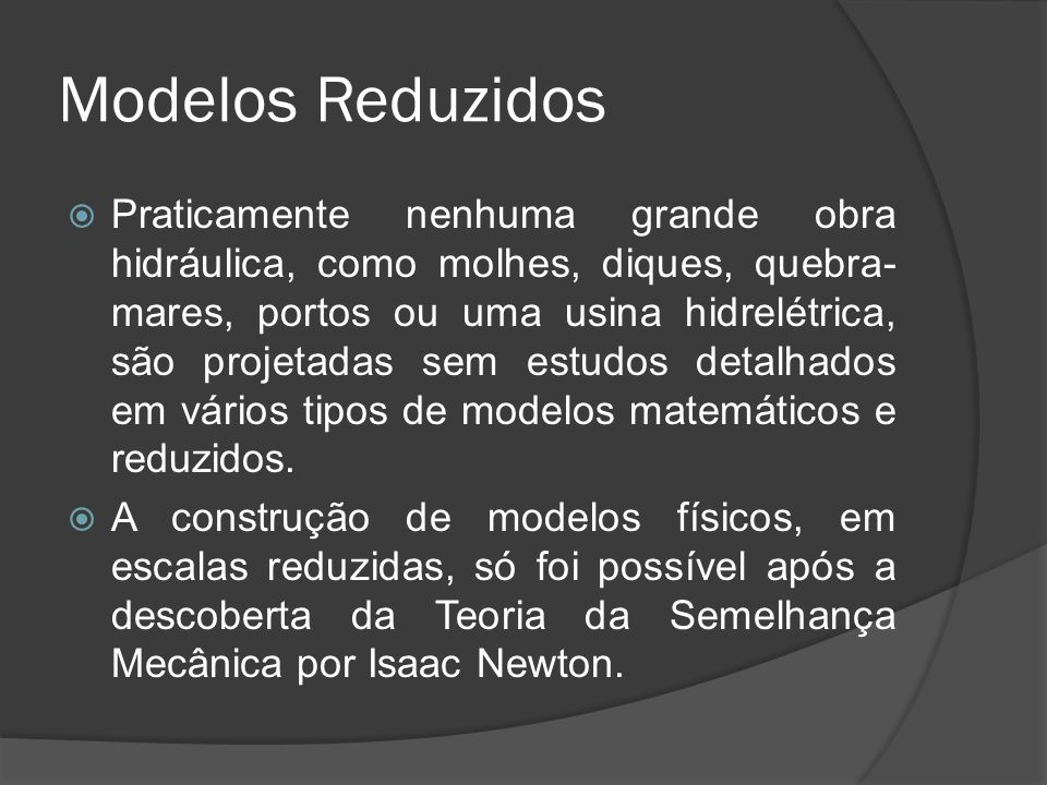 Modelos Reduzidos