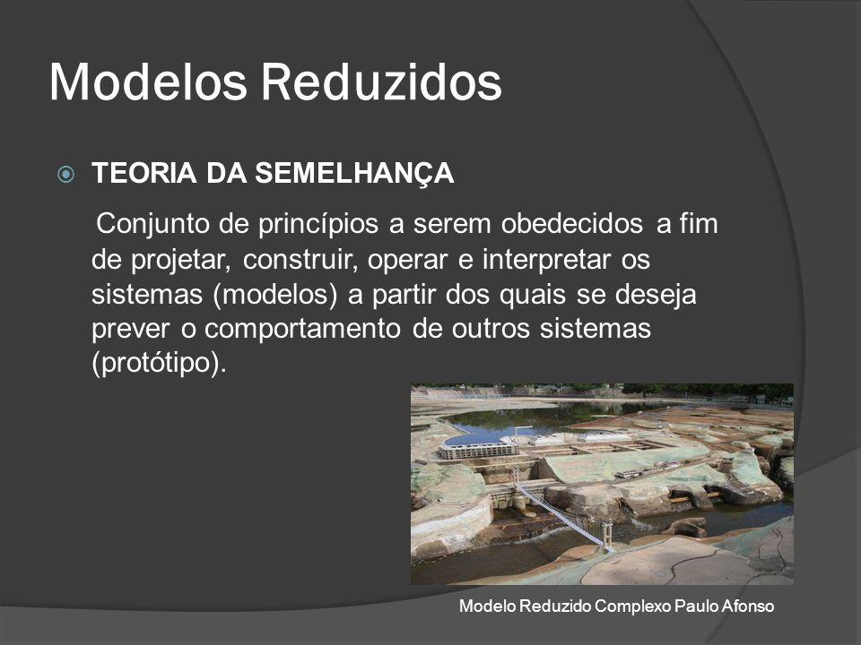 Modelos Reduzidos TEORIA DA SEMELHANÇA.