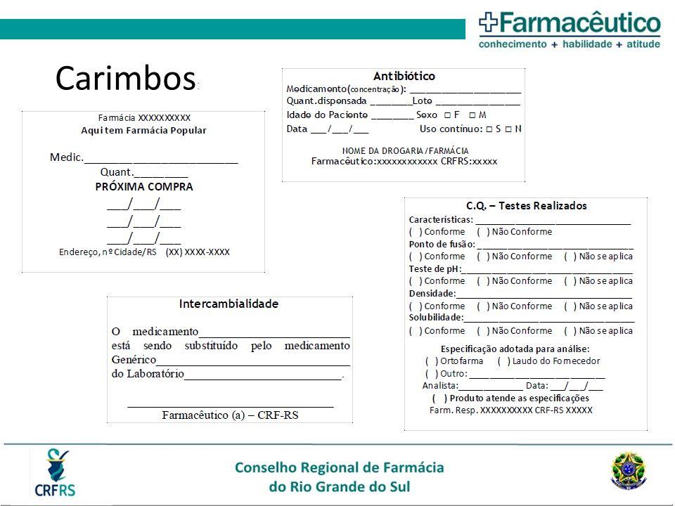 Carimbos: