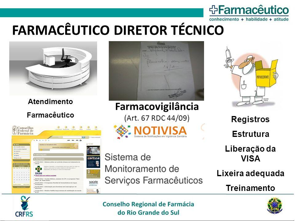 FARMACÊUTICO DIRETOR TÉCNICO