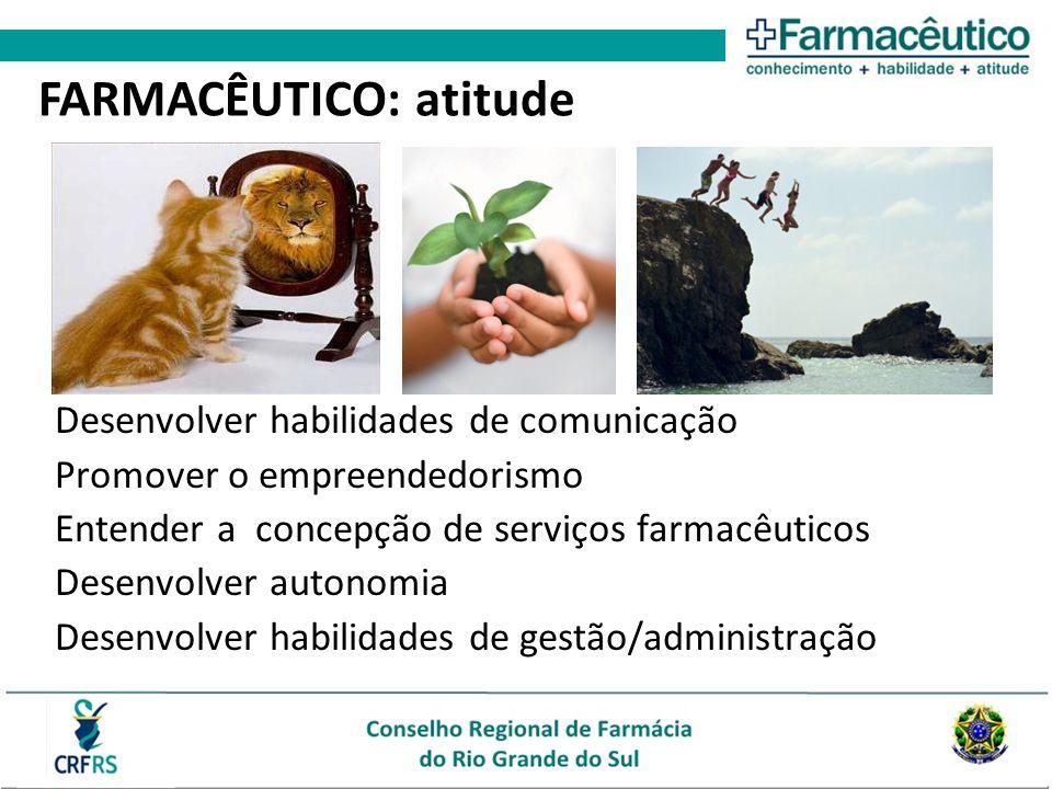 FARMACÊUTICO: atitude