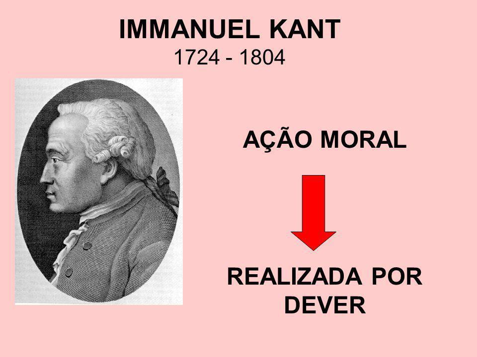 AÇÃO MORAL REALIZADA POR DEVER