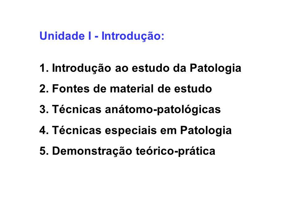 Unidade I - Introdução: