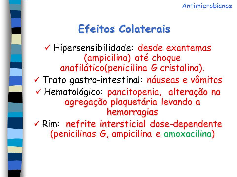  Trato gastro-intestinal: náuseas e vômitos