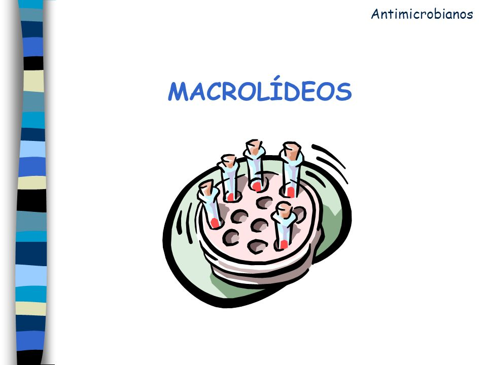 Antimicrobianos MACROLÍDEOS