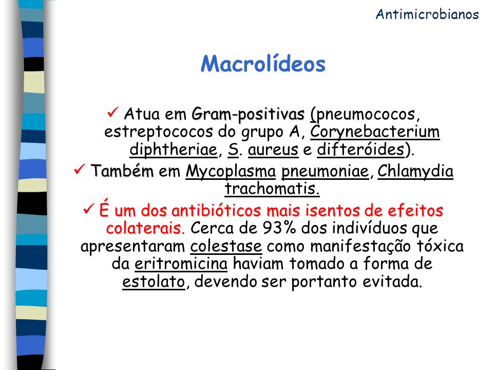  Também em Mycoplasma pneumoniae, Chlamydia trachomatis.