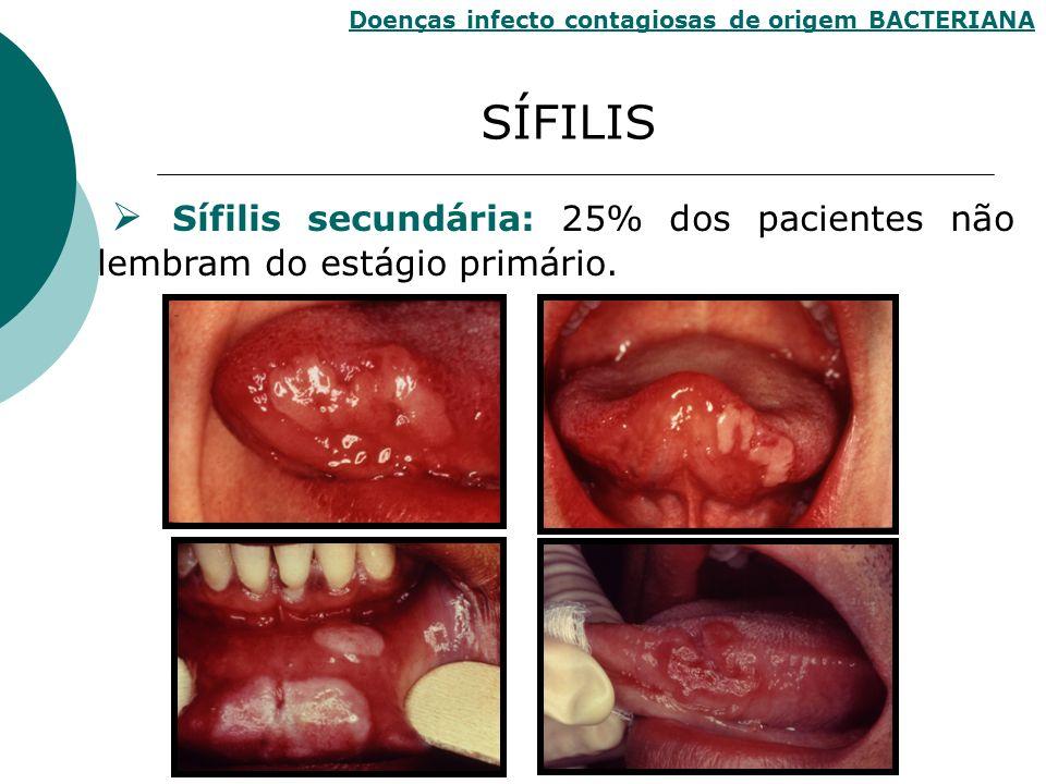 Doenças infecto contagiosas de origem BACTERIANA