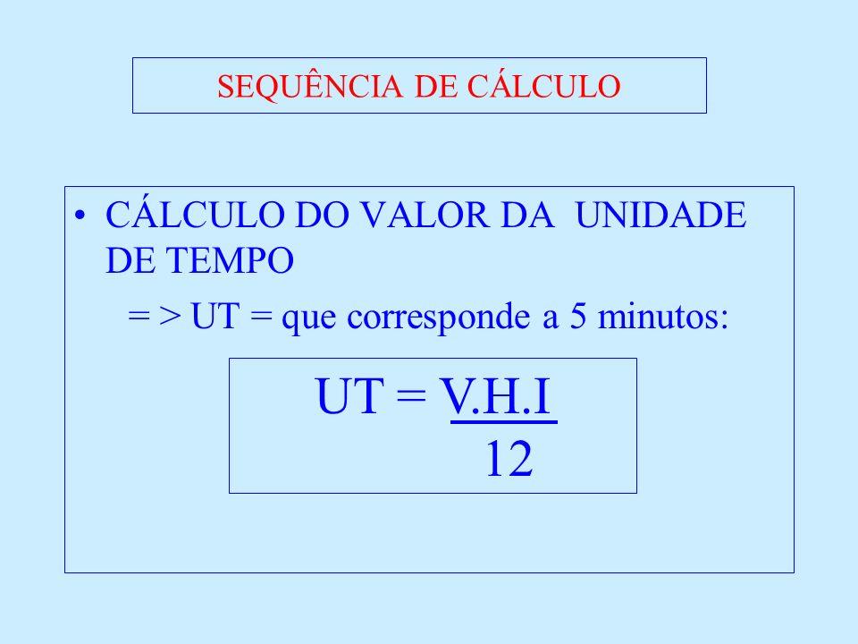 = > UT = que corresponde a 5 minutos: